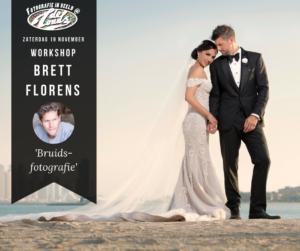 Workshop BruidsFotografie van Brett Florens (Engels gesproken)