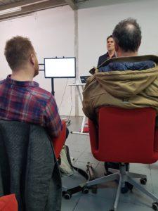 workshop bij Brett Florens